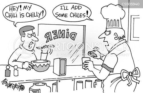cold food cartoon