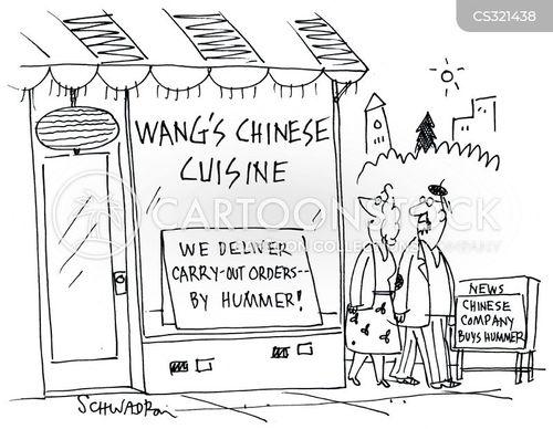chinese takeaway cartoon