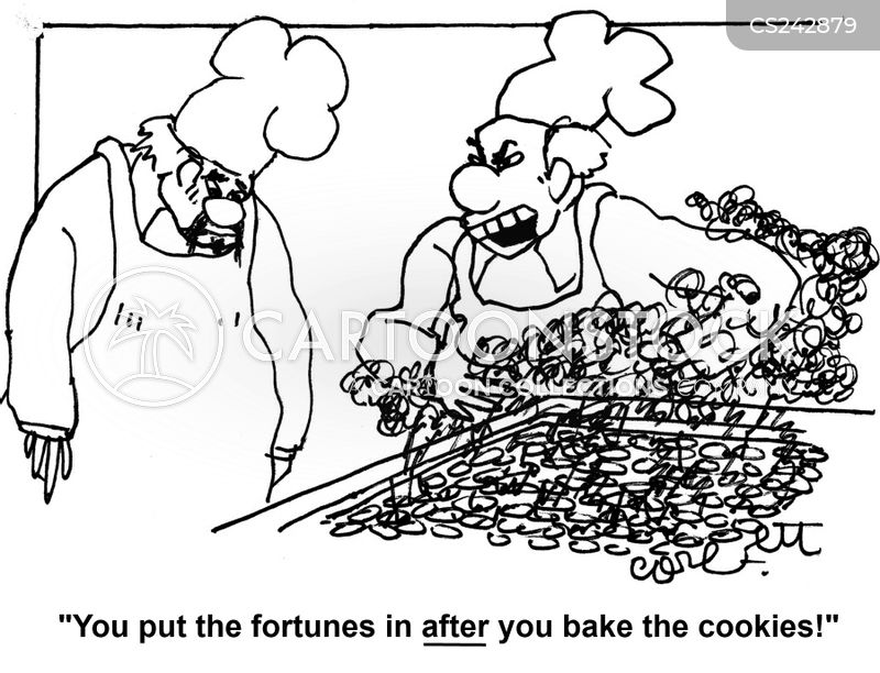 chinese cuisines cartoon