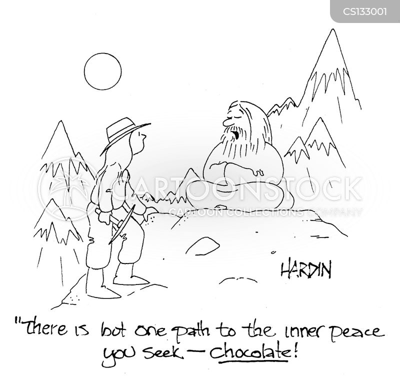 chocoholics cartoon