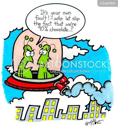 chocolate addicts cartoon