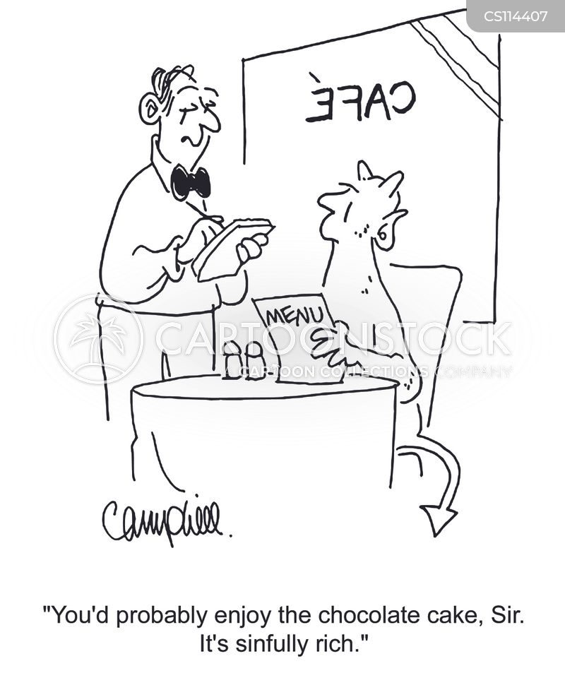 chocolate cakes cartoon