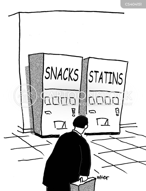cholesterol levels cartoon