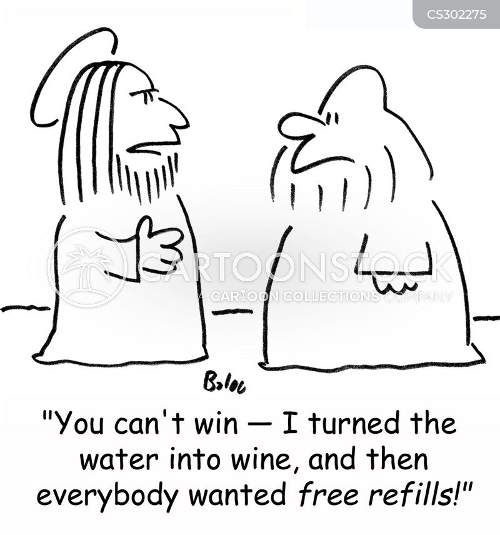 free refill cartoon