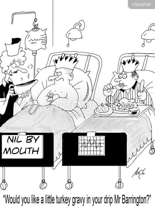 nil by mouth cartoon