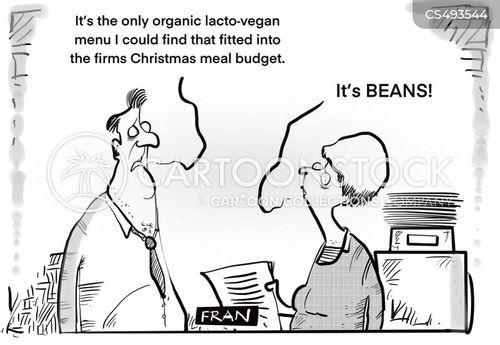 christmas meals cartoon