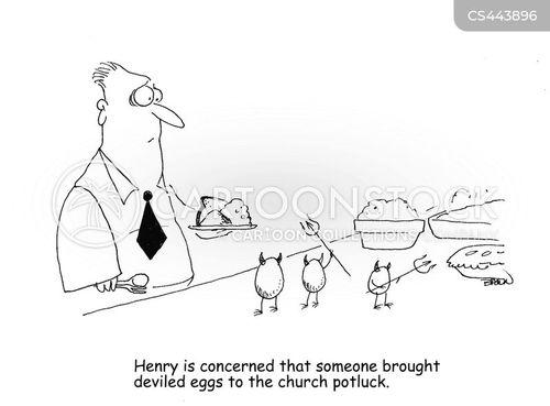 deviled egg cartoon