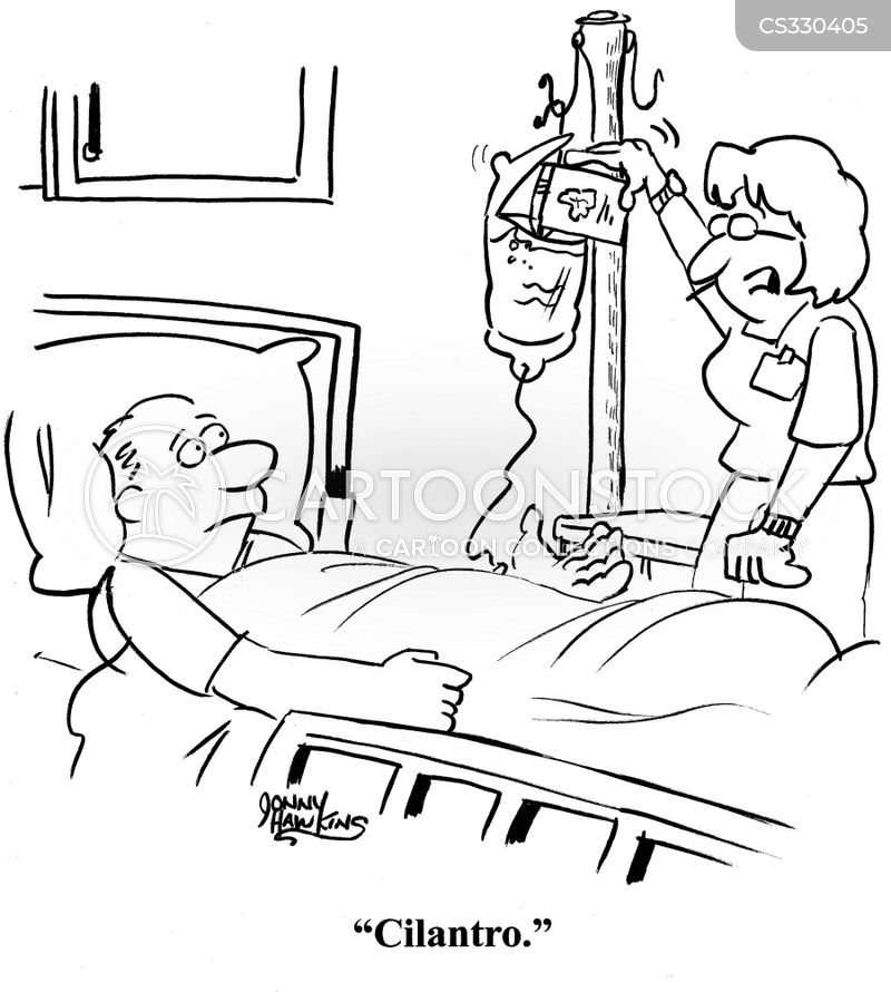 intravenous cartoon