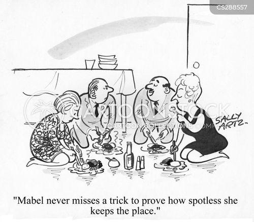 spotless cartoon