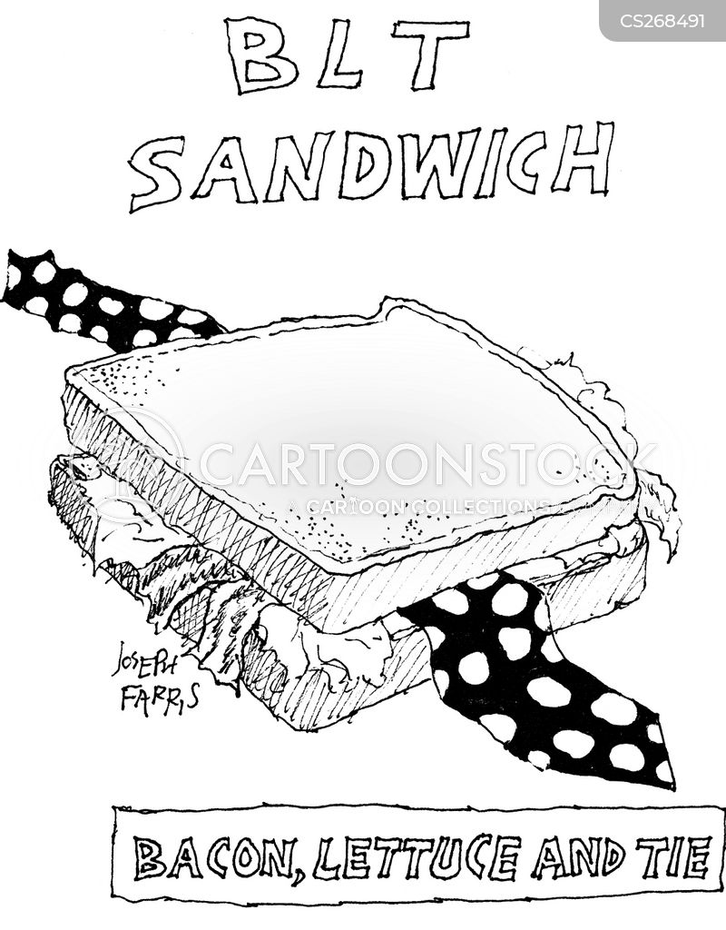 blt sandwich cartoon