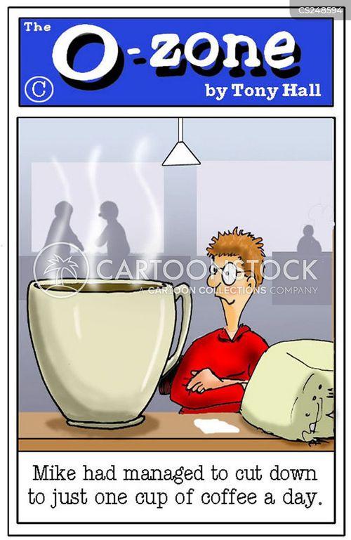 caffeines cartoon