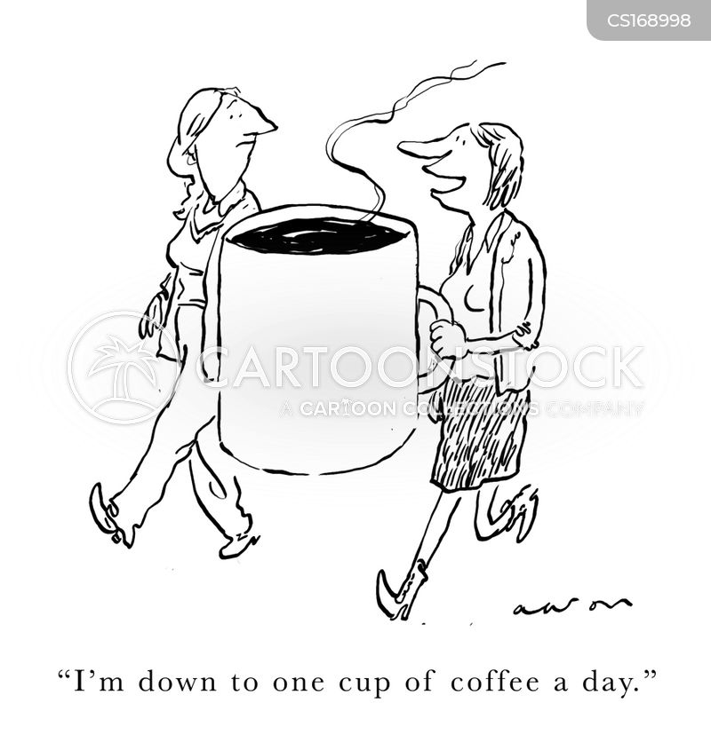 caffine cartoon