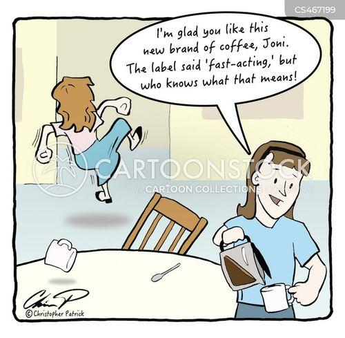caffeine boosts cartoon