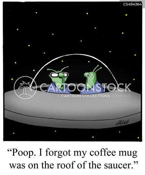 coffee mugs cartoon