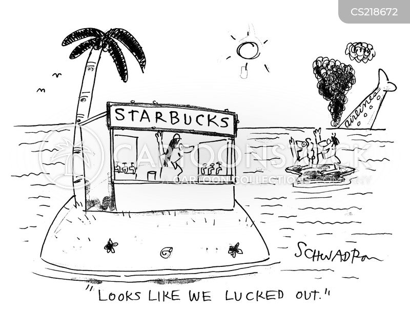 in luck cartoon