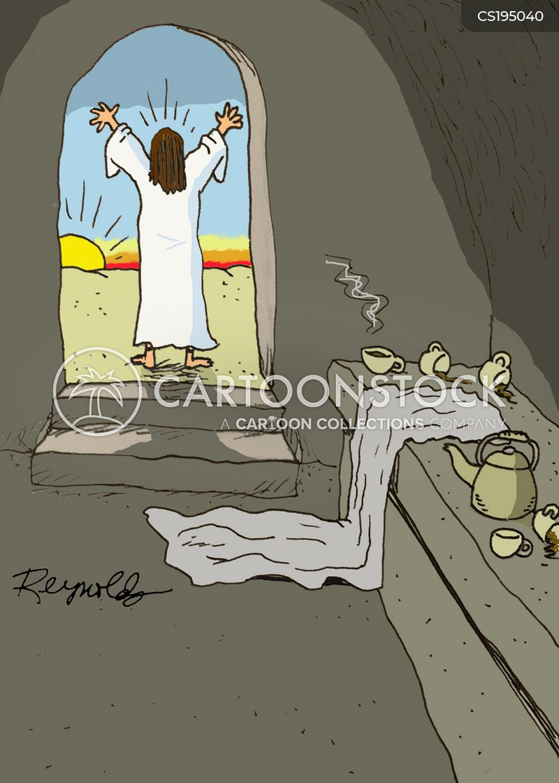 resurrection cartoon