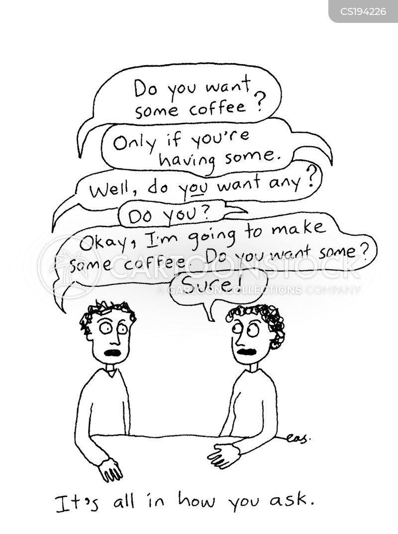 conversation skills cartoon