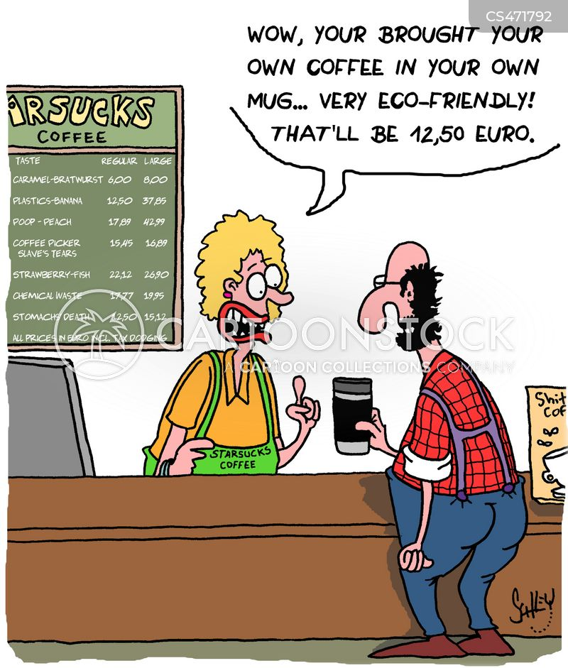 Coffee Chains Cartoons And Comics Funny Pictures From Cartoonstock
