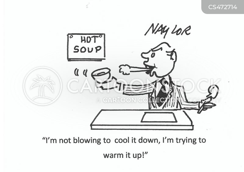 hot soups cartoon