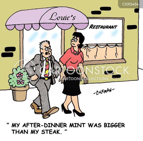 after dinner cartoon