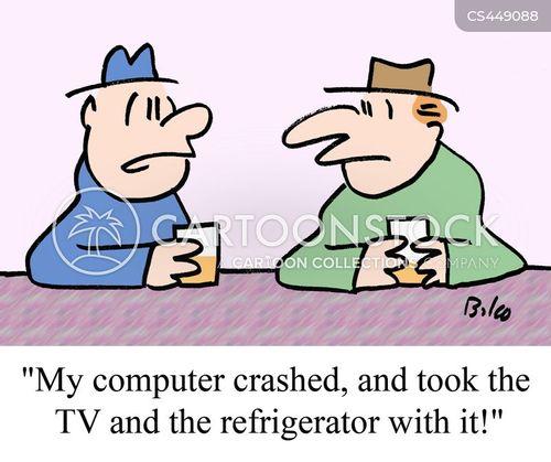 smart homes cartoon