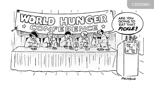 feeders cartoon