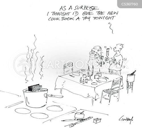 cook-books cartoon