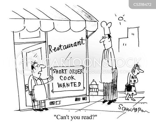 short order cartoon