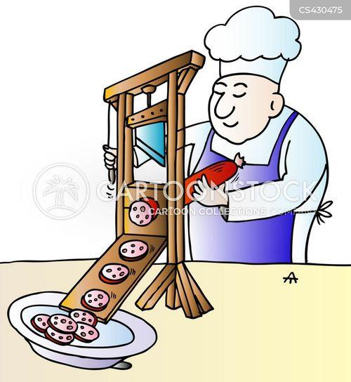 food prep cartoon