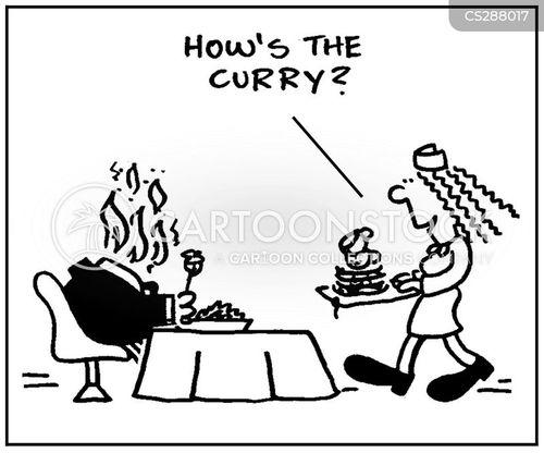 curries cartoon