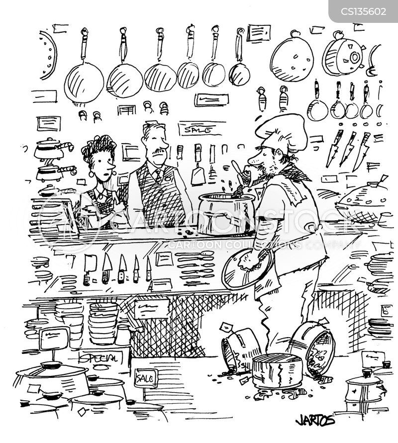 short-order cook cartoon