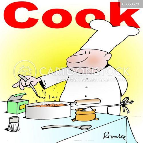 cake mixture cartoon