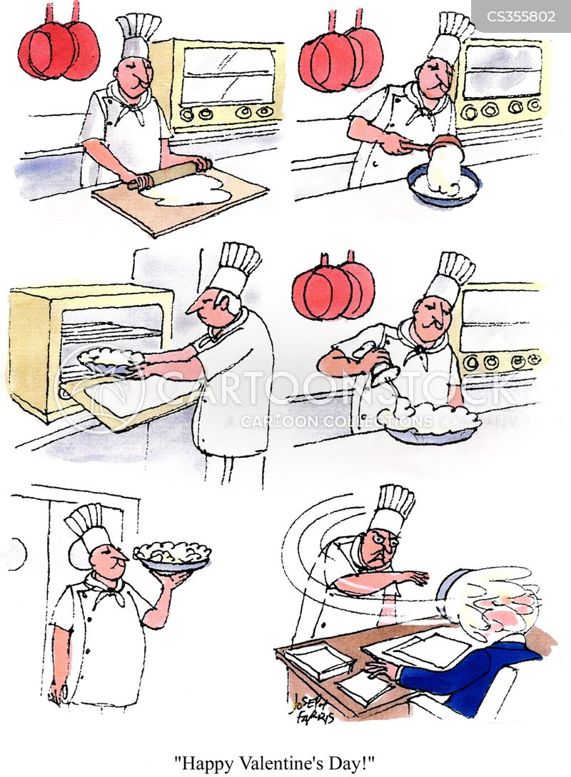 pie in the face cartoon