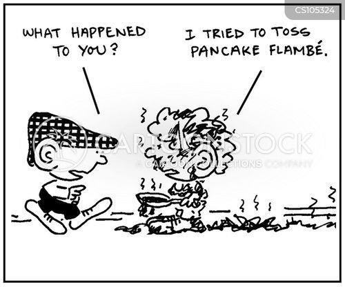 flambe cartoon
