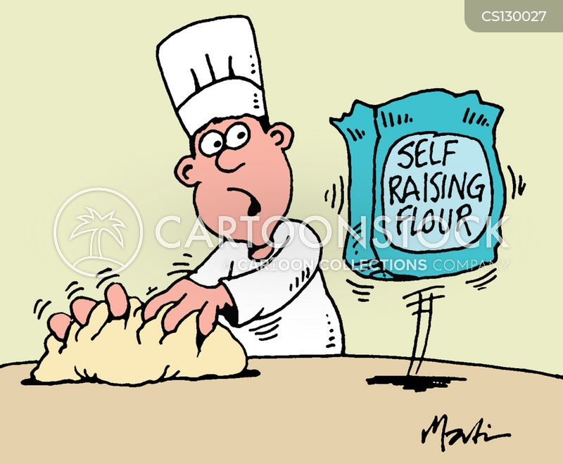 flour cartoon