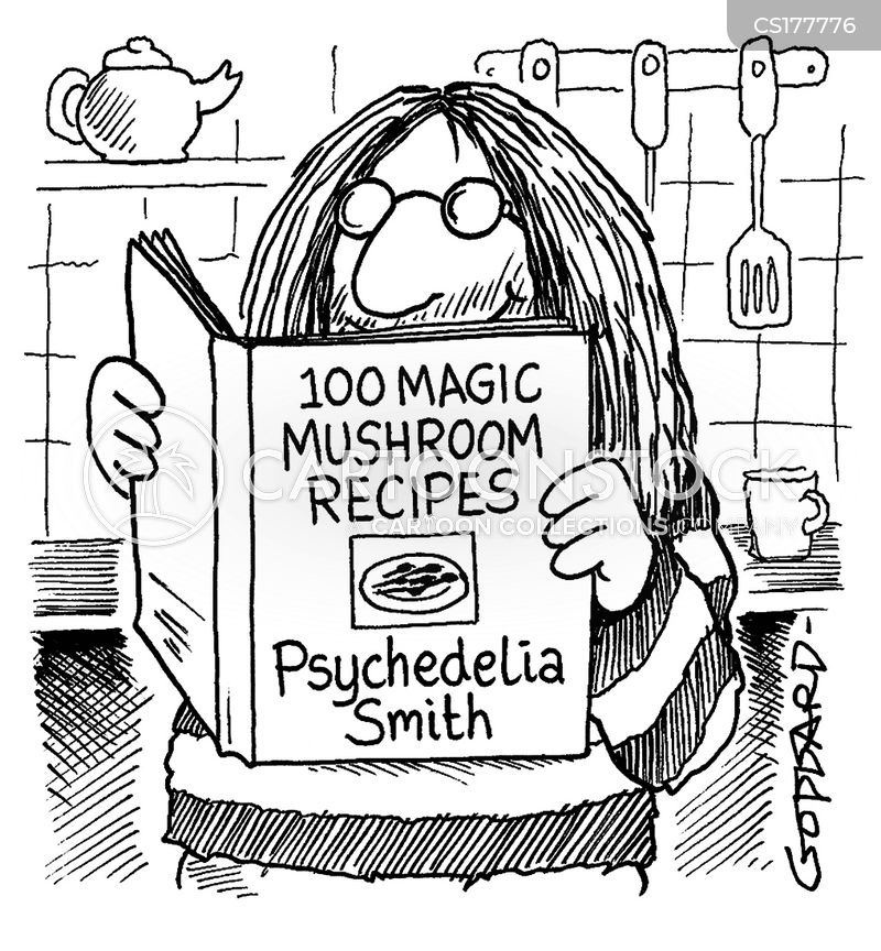 psychedelic cartoon