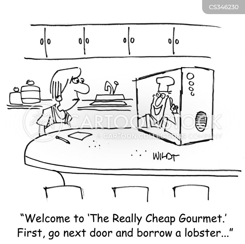 cookery program cartoon