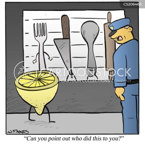 lemons cartoon