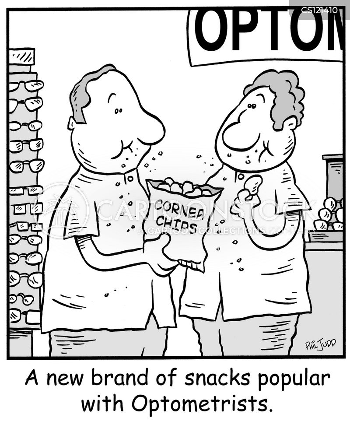 corn chips cartoon