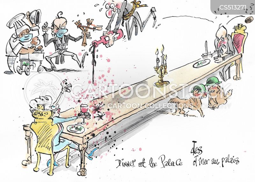 flunkies cartoon