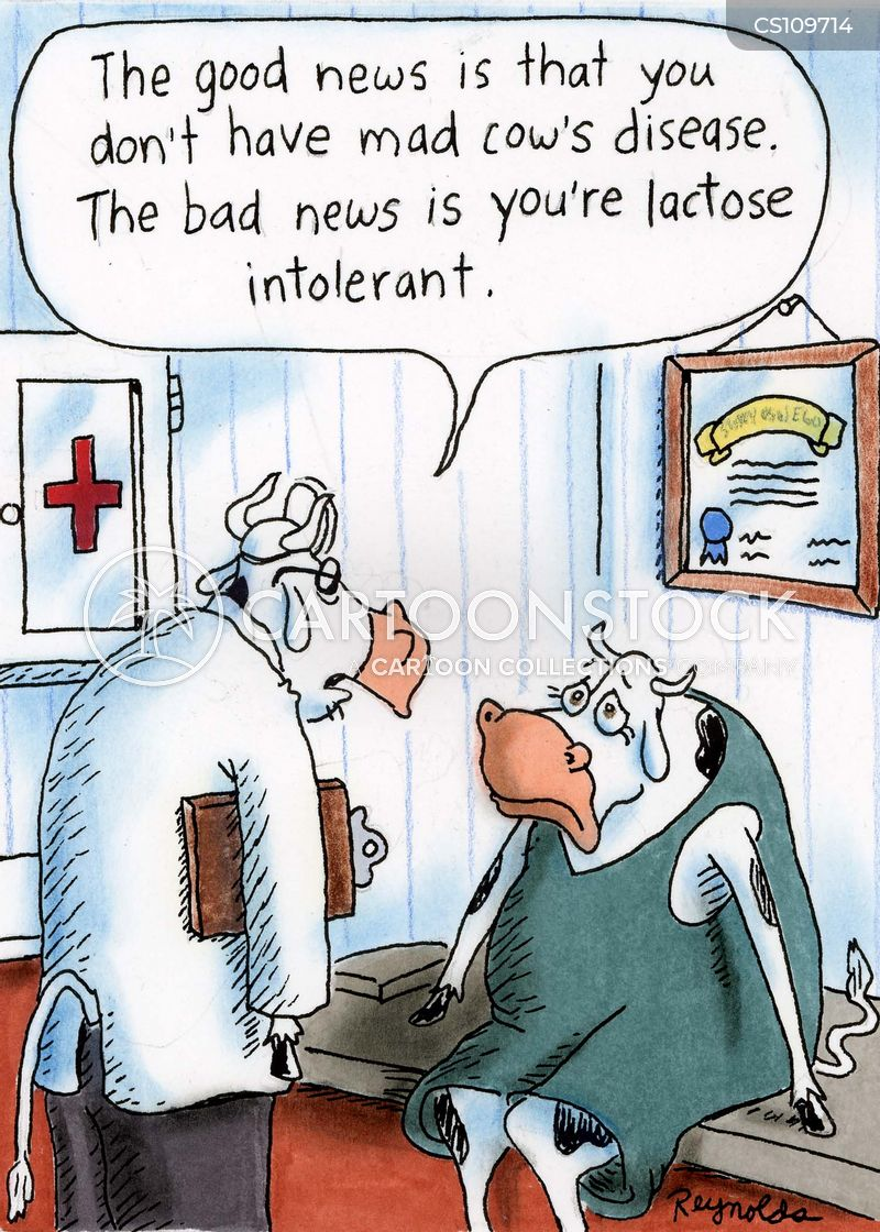 lactose intolerant cartoon