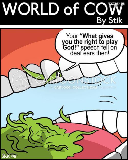 play god cartoon