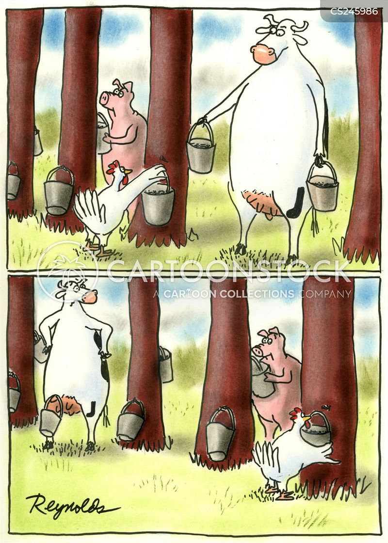 diary farms cartoon