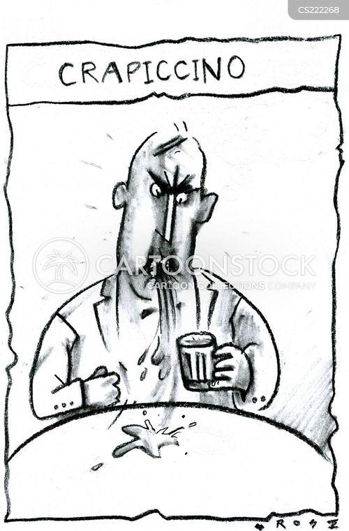 cappuccinos cartoon