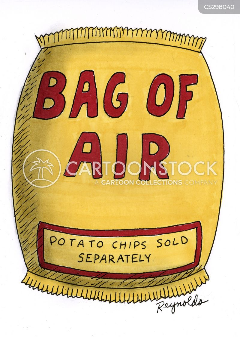 bag of air cartoon