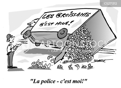police office cartoon
