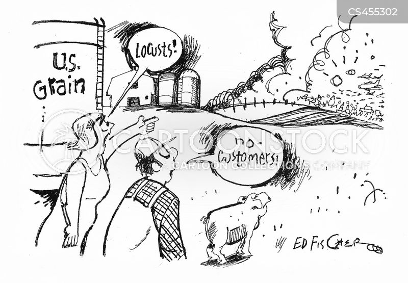 us agriculture cartoon