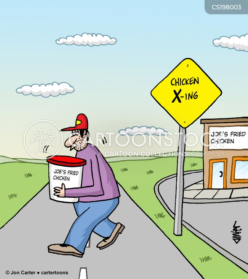 crossings cartoon