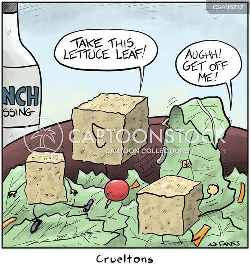 crouton cartoon