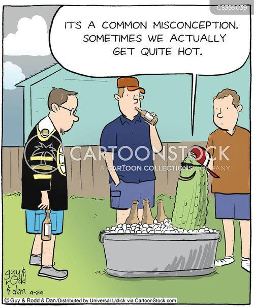 cucumbers cartoon